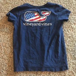 Vineyard vines USA tee shirt (kids)